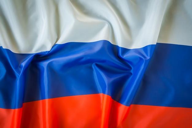 Bandeiras da rússia. Foto gratuita