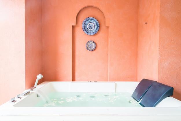 Banheiro banho saudável hotel de ninguém Foto gratuita