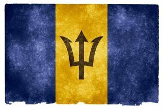 Barbados grunge bandeira américa Foto gratuita