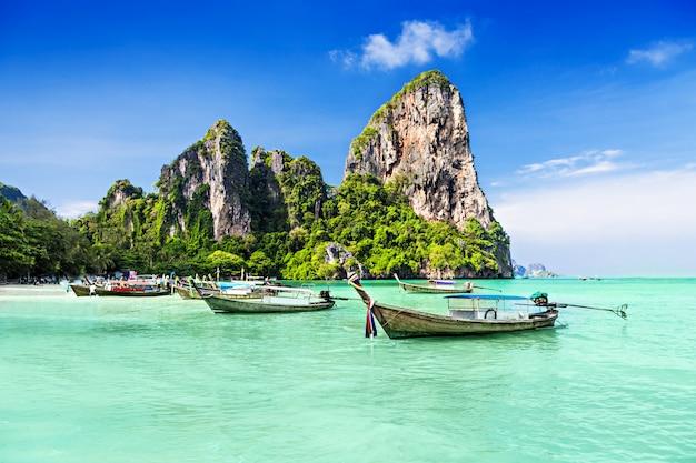 Barcos de longo alcance Foto Premium