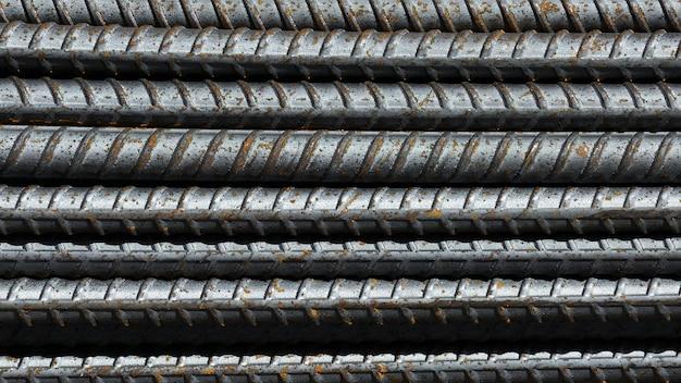 Barra de aço enferrujado Foto Premium