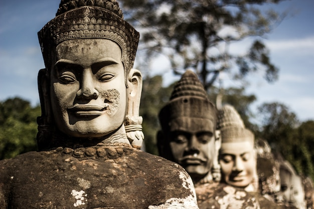 Bayon temple Foto Premium