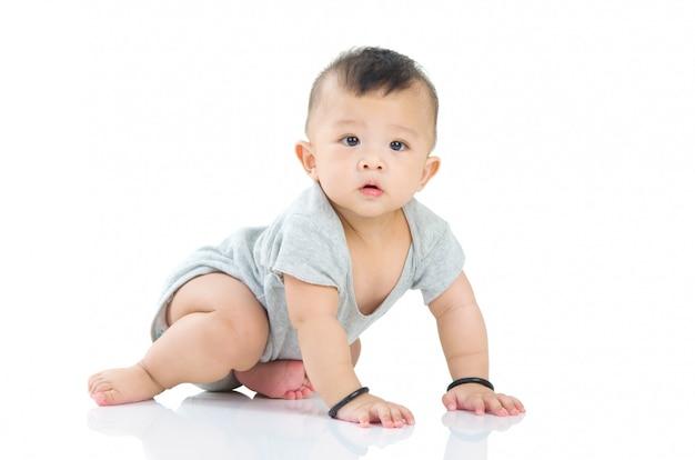 Bebê asiático Foto Premium