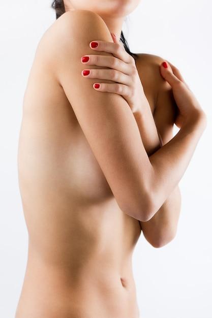 Bela corpo de mulher sexy nua Foto gratuita