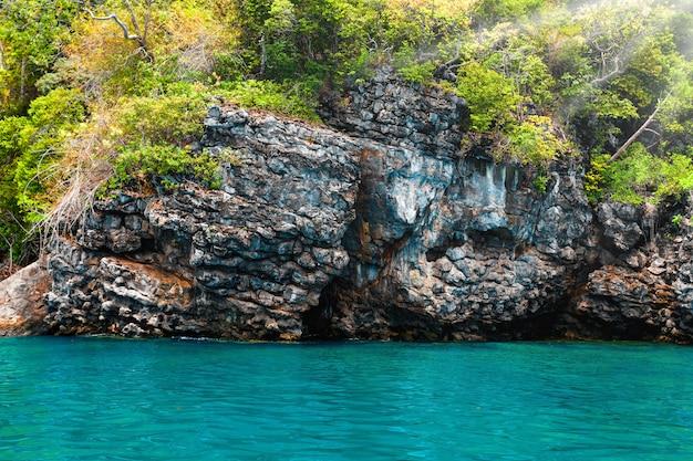 Bela paisagem do oceano Foto Premium