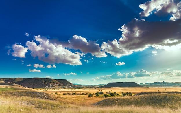 Bela paisagem na capadócia Foto Premium