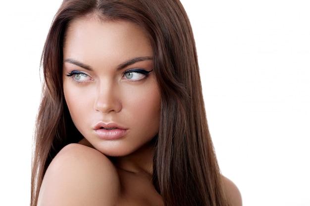 Beleza da mulher Foto gratuita