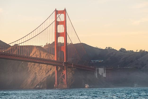 Beleza da ponte golden gate Foto Premium