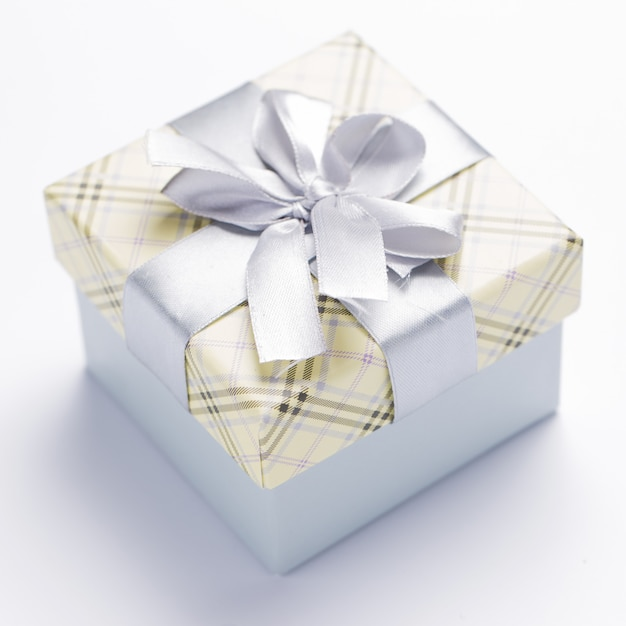 Belo pacote de natal Foto gratuita