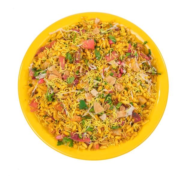 Bhelpuri chat Foto Premium