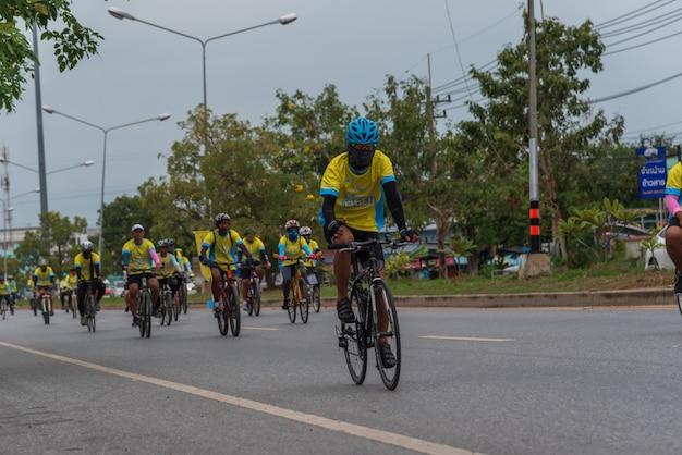 Bicicleta un ai rak ciclismo Foto Premium