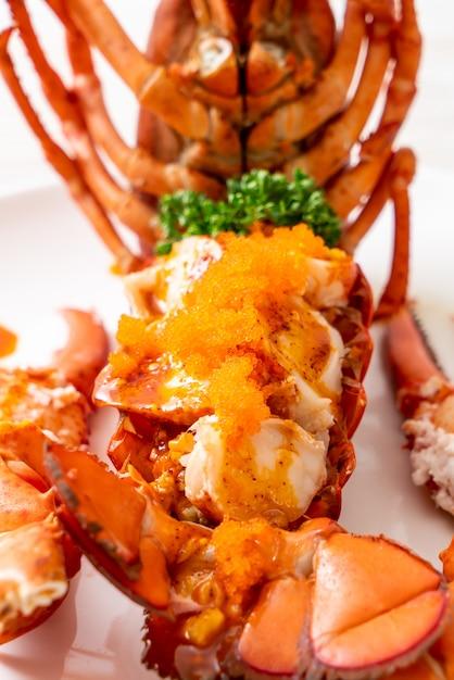 Bife de lagosta com molho Foto Premium