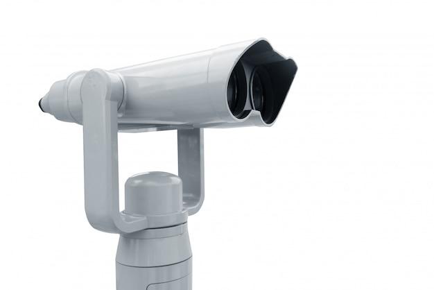 Binóculos, céu do convés da câmera do visor, construção do telhado, câmera para a vista superior do olho Foto Premium