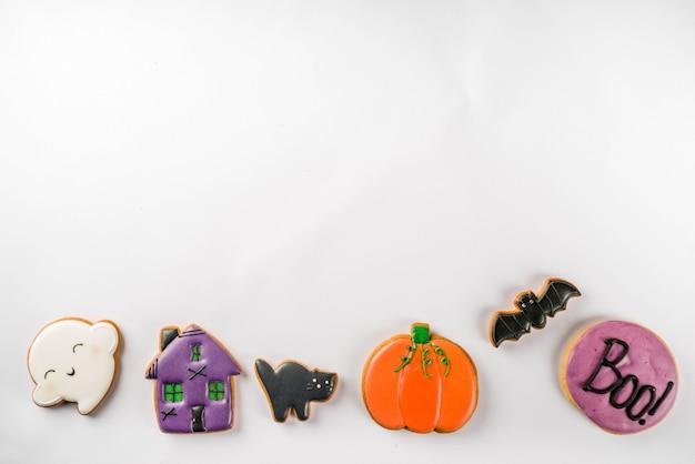 Biscoitos tradicionais de halloween Foto Premium
