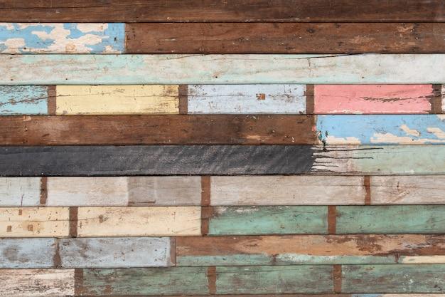 Blackground, painel de madeira retro Foto Premium