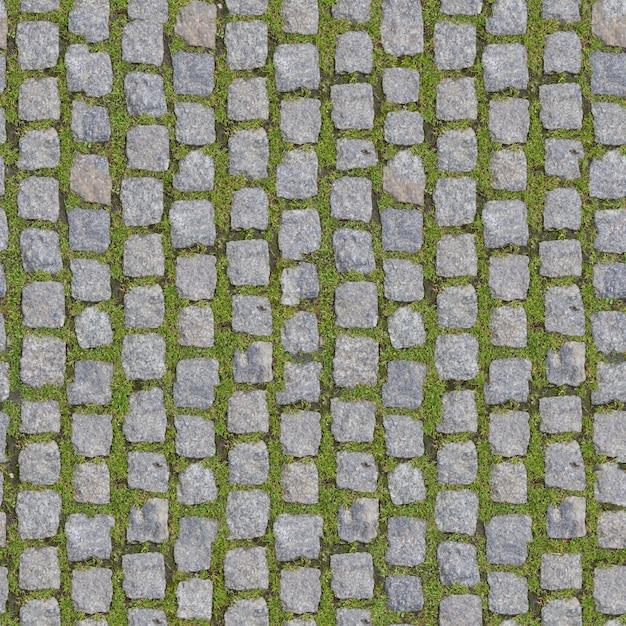 Bloco de pedra com grama. fundo transparente. Foto Premium