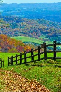 Blue ridge parkway abstrato Foto gratuita