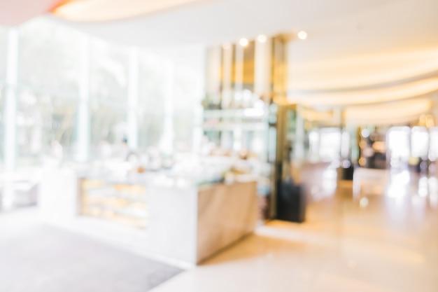 Blur lobby do hotel Foto gratuita