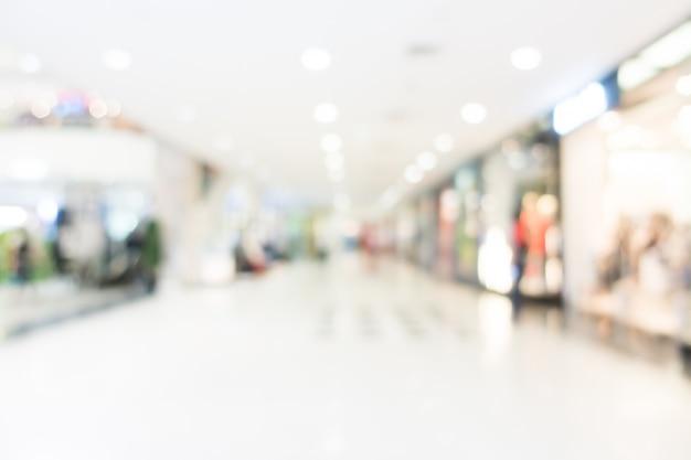 Blur shopping center Foto gratuita