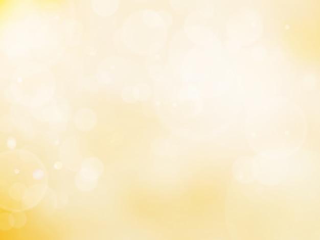 Bokeh abstrato fundo cor ouro Foto Premium