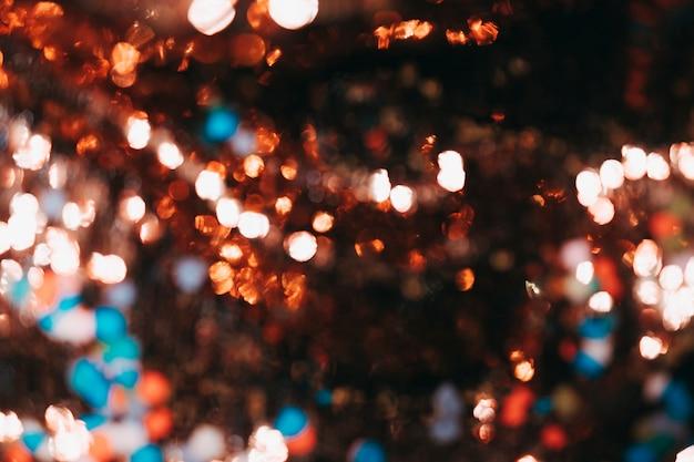 Bokeh bonito luzes de fundo Foto gratuita