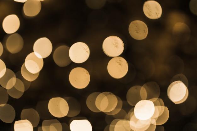 Bokeh dourado luz de fundo abstrato Foto gratuita