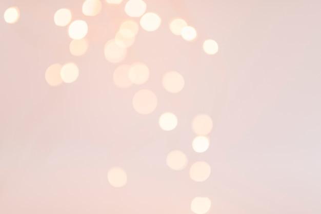 Bokeh luzes na vermelhidão Foto gratuita