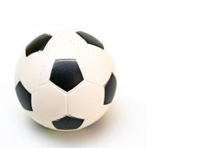 bola de futebol, branco Foto gratuita