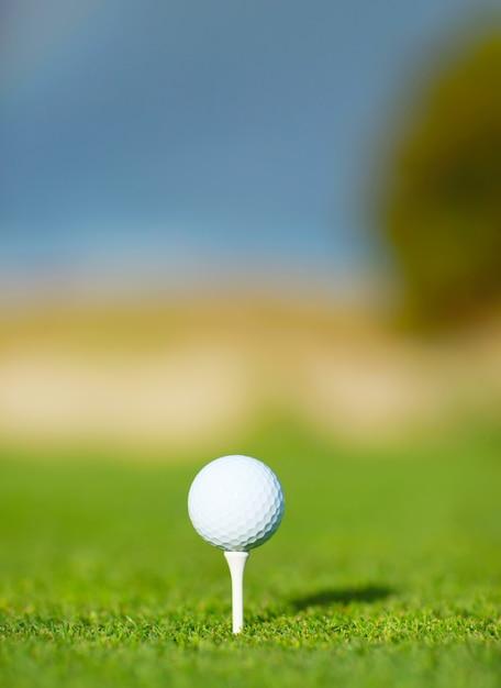 Bola de golfe Foto gratuita