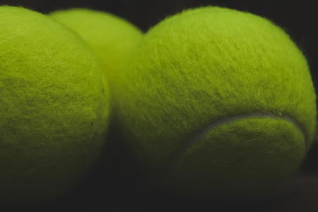 Bolas de tênis Foto gratuita
