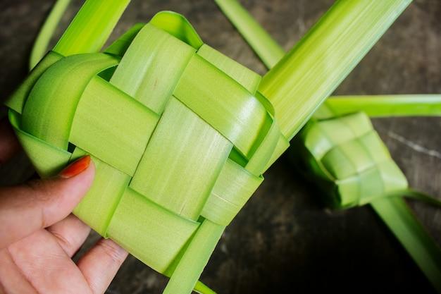 Bolinho de arroz pré-feito Foto Premium