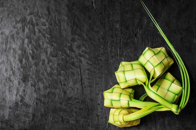 Bolinho de arroz verde Foto Premium
