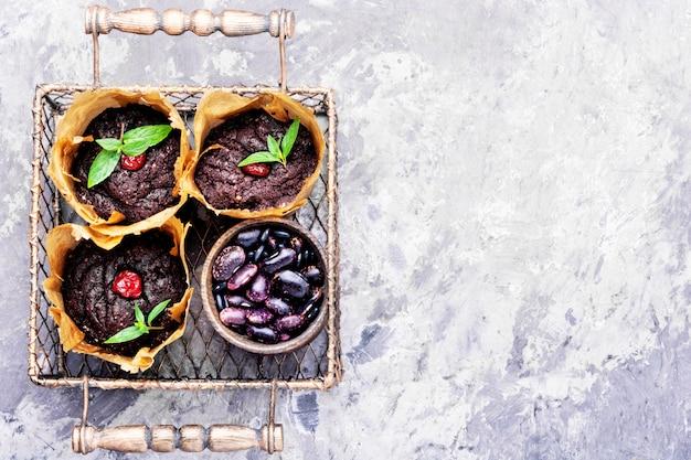 Bolinhos vegan de feijão Foto Premium