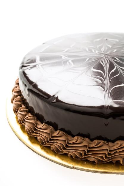 Bolo de chocolate Foto gratuita
