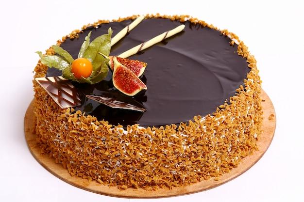 Bolo de frutas de sobremesa Foto gratuita
