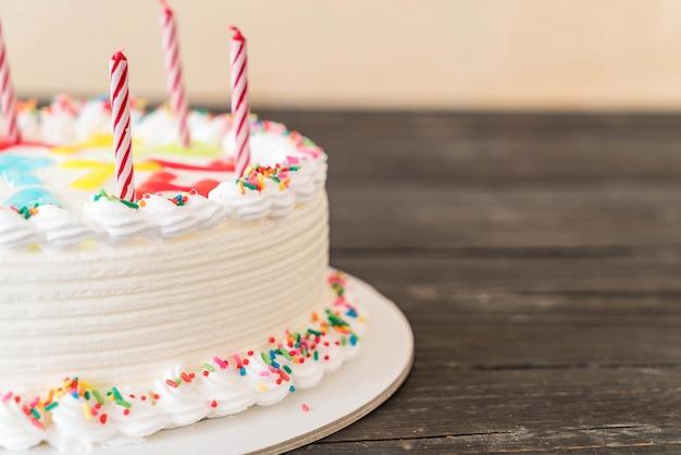 Bolo feliz aniversário Foto Premium