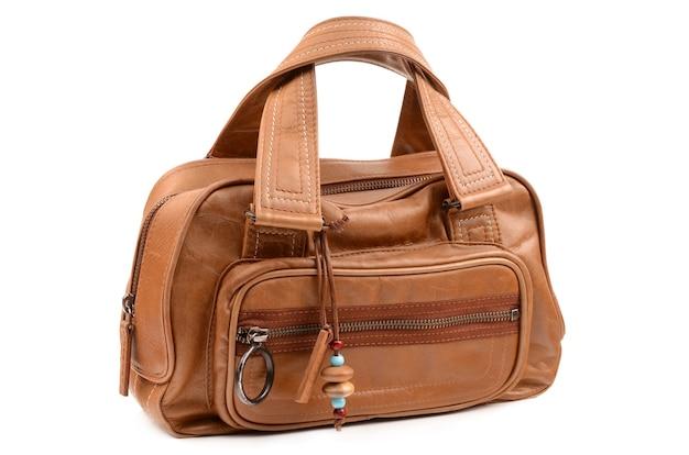 Bolsa marrom feminina Foto Premium