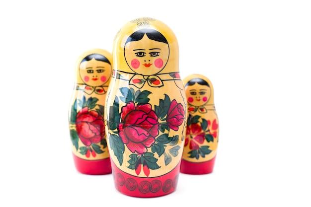 Bonecas russas, matryoshkas Foto Premium