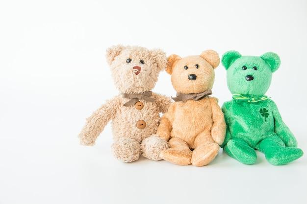 Bonecos bonitos e a gangue, equipe do brinquedo Foto Premium