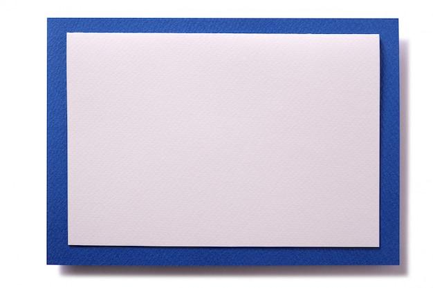 Borda azul de cartão de convite de natal Foto gratuita