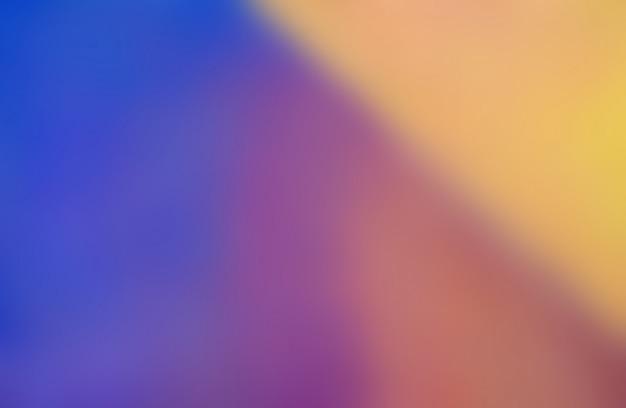 Borrão colorido abstrato de tinta a óleo. Foto Premium