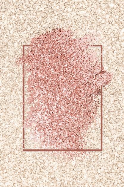Borrão de glitter rosa Foto gratuita