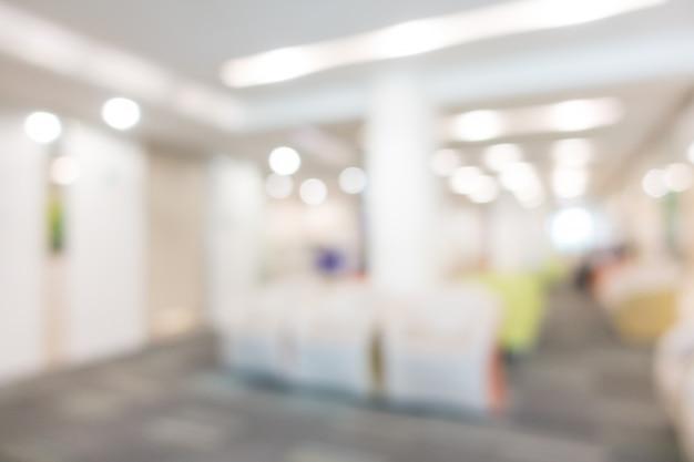 Borrão de hospital e clínica interior Foto gratuita