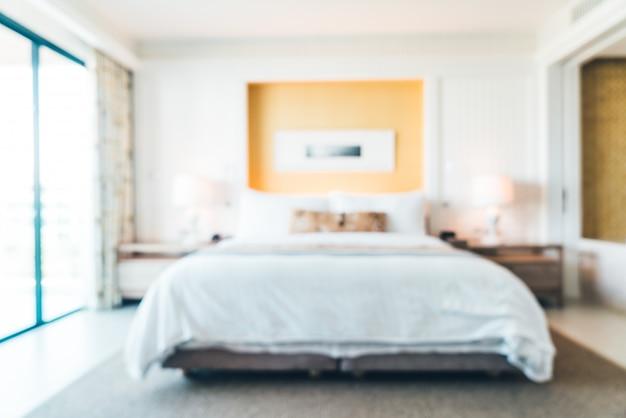 Borrão quarto de hotel Foto gratuita