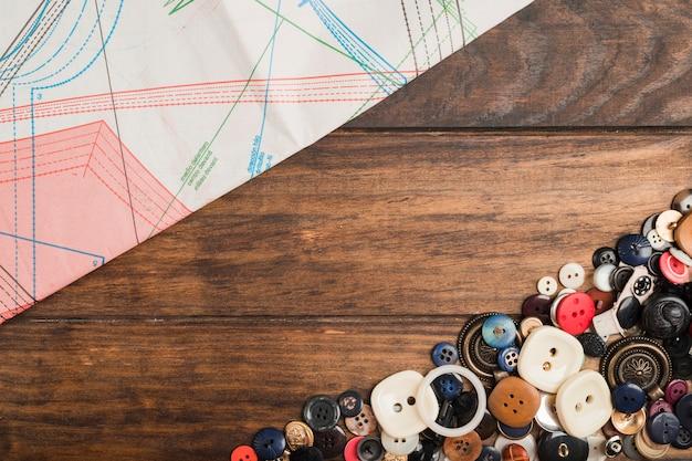 Botões de costura Foto gratuita