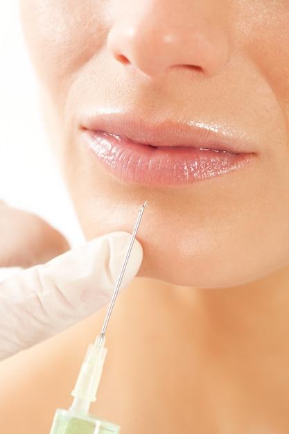 Botox - idade e beleza Foto Premium