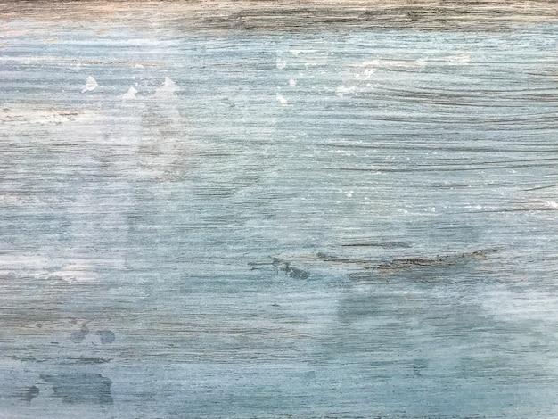 Branco e azul laminado vintage gasto, fundo de textura de madeira, Foto Premium