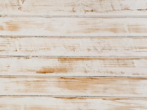 Branco pintado com textura de fundo de madeira Foto gratuita