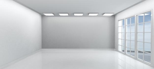 Branco sala vazia Foto gratuita