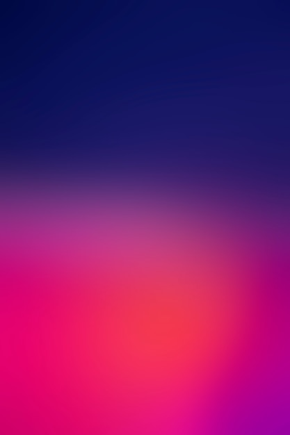 Brilhantes cores bonitas em gradiente Foto gratuita